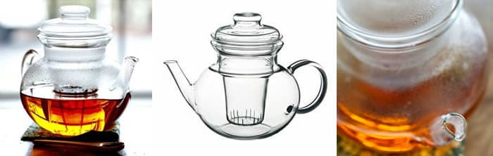 Glass Tea Pot with Glass Filter