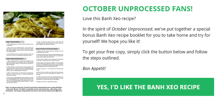 Get the Banh Xeo Recipe Booklet