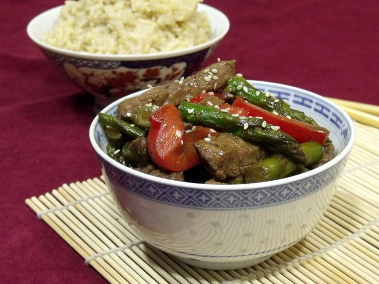 Stir Fry made with Asian Spice Mix