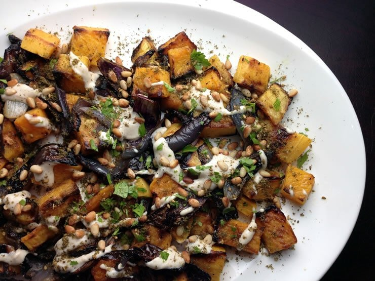 Butternut Squash with Za'atar