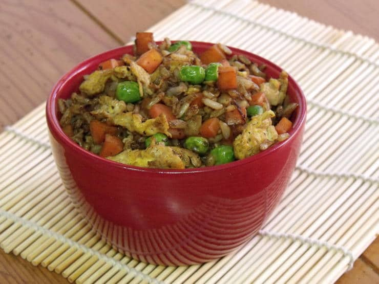 Fried Rice made with Asian Spice Mix