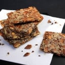 Homemade Multi-Seed Crackers