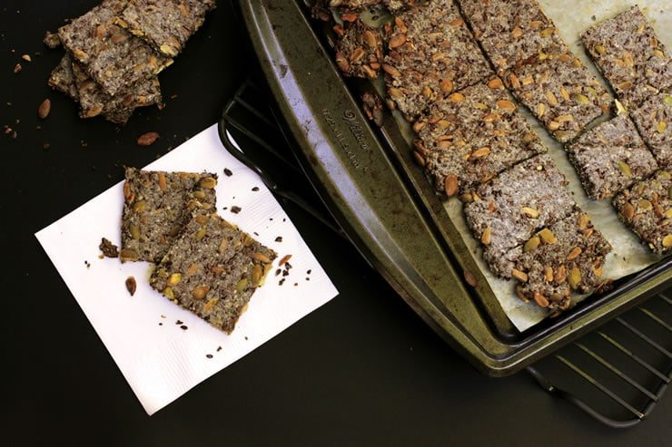 How to Make Multi-Seed Crackers