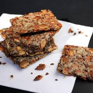 Homemade Multi-Seed Crackers