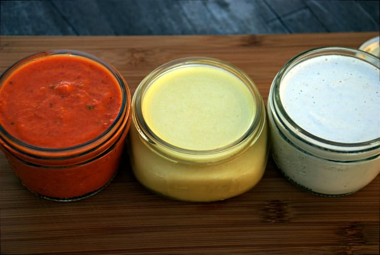 Three Plant-Based Vegan Sauces to Make at Home