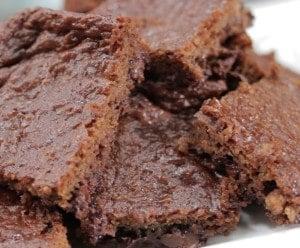 Vegan Double-Chocolate Espresso Zucchini Brownies