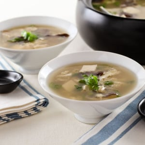 Easy Egg Drop Soup - A fast weeknight comfort-food meal