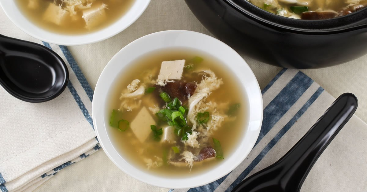 easy egg drop soup recipe eating rules
