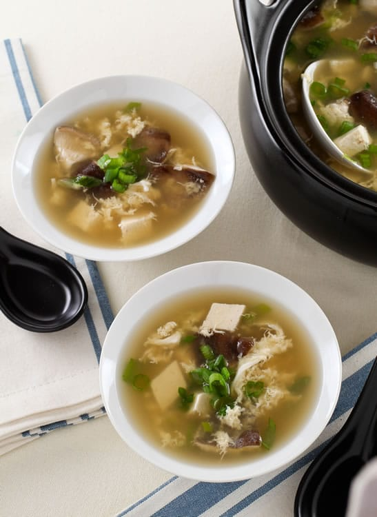 Easy Egg Drop Soup Recipe