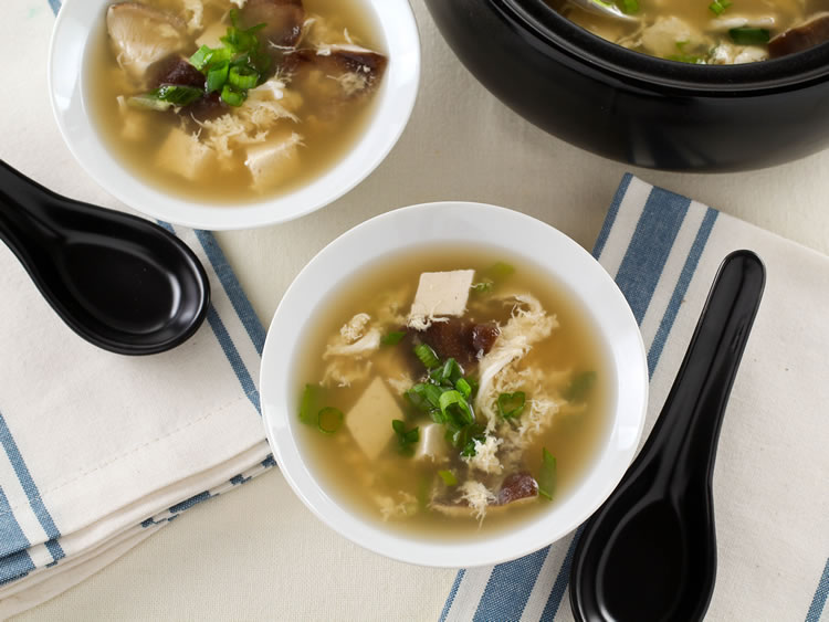 Easy Egg Drop Soup RecipeEating Rules