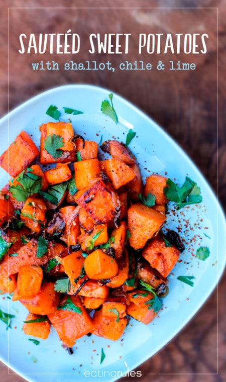 Sweet Potatoes with Chile and Lime