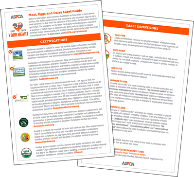 ASPCA Farm Animal Welfare Guide PDF