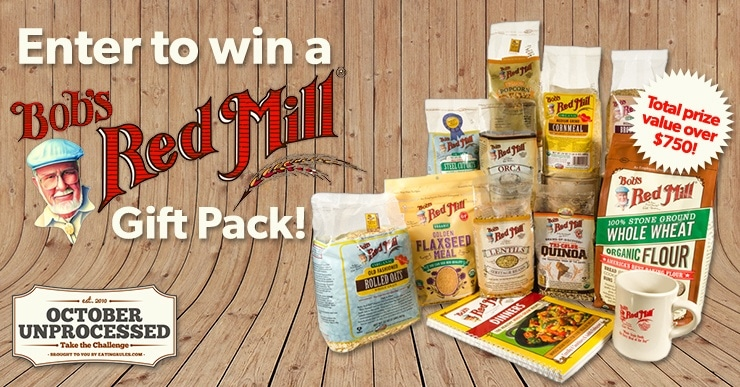 Bob's Red Mill October Unprocessed Giveaway