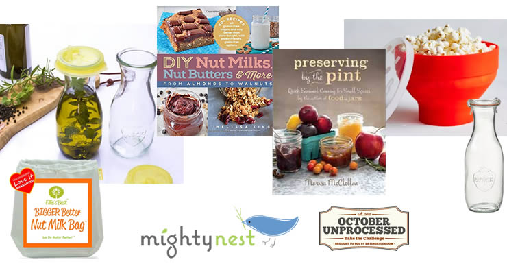 Mighty Nest October Unprocessed Giveaway Items