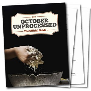 Get the October Unprocessed Official Guide