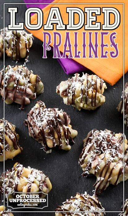 loaded pralines