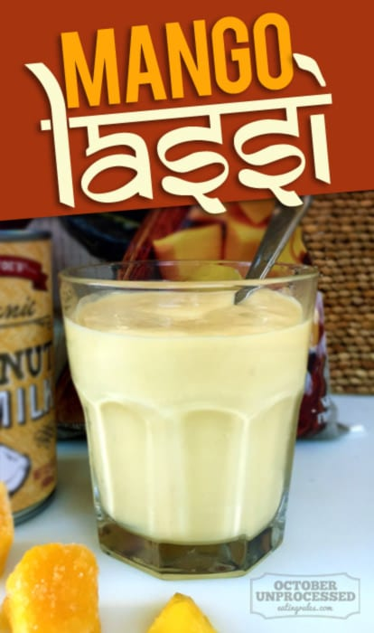 mango lassi for kids