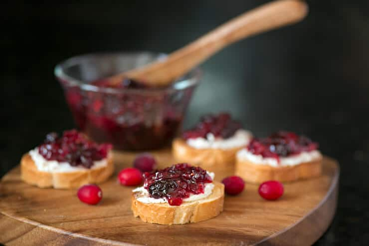 savory cranberry jam appetizers