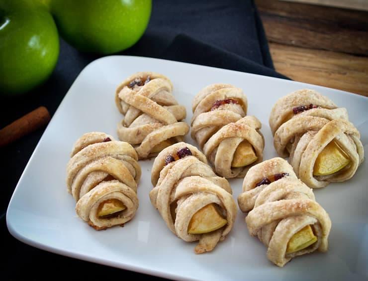 "Apple Pecan ""Mummy"" Dumplings"