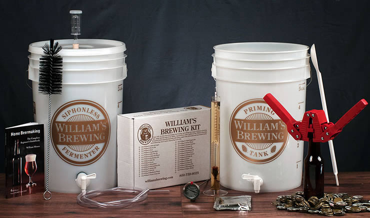 William's Brewing Starter Kit
