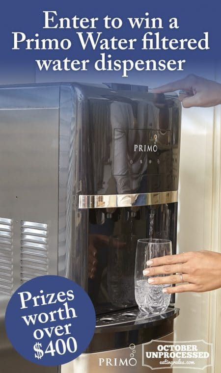 Primo Water dispenser giveaway