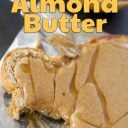 roasted almond butter toast