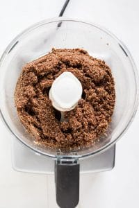 processed hazelnuts cocoa powder