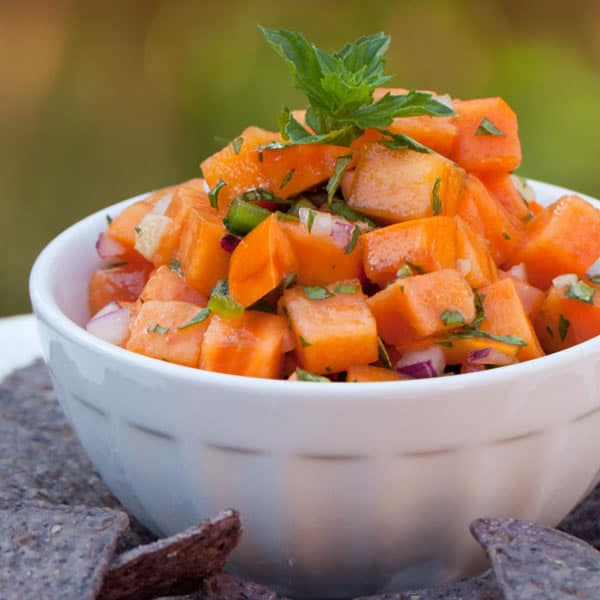 Spicy Persimmon Salsa